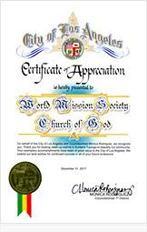 로스앤젤레스 7지구 대표 시의원 모니카 로드리게스