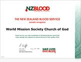 뉴질랜드혈액원장 샘 클리프