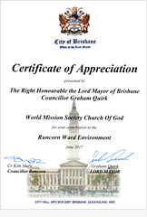 Brisbane Lord Mayor, Graham Quirk & Brisbane City Councillor..