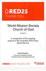 호주적십자사 혈액원 지역사회관계담당자 데이빗 로제토