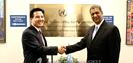총회장 UN 본부 방문, 아이티 돕기 성. . .