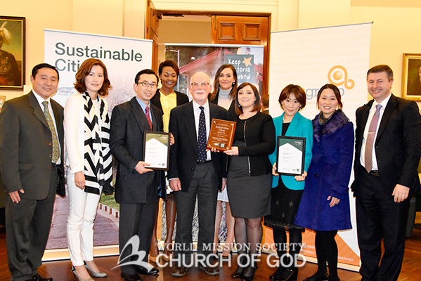 The Church of God Received KVB Award.