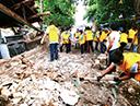 멕시코 지진피해복구활동
