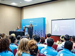 대학생봉사단 ASEZ, 제68차 유엔 시민사회 콘퍼런스 참가
