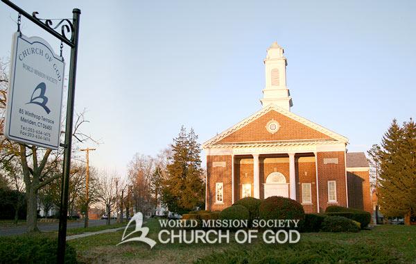 미국 CT 메리덴 하나님의 교회