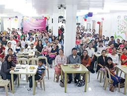 필리핀 만달루용교회, 가족초청잔치 개최